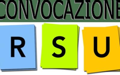 Convocazione RSU