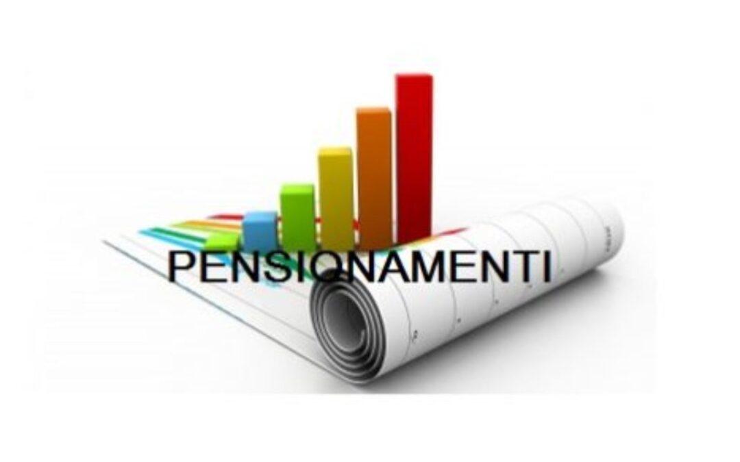 CIRCOLARE PENSIONAMENTI 01-09-2021