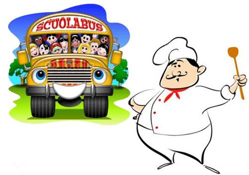 Servizi di trasporto scolastico e Mensa