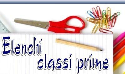 Elenchi Classi Prime